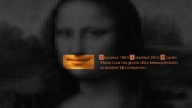 Feridun Oral - Mona Lisa Buruk Bir Tebessümün Kısa Hikayesi Kitap - Sergi
