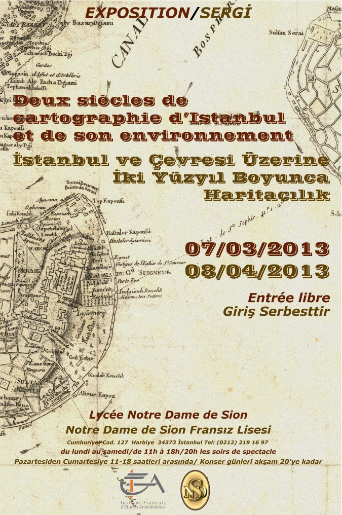 İstanbul ve Çevresi Üzerine İki Yüzyıl Boyunca Haritacılık