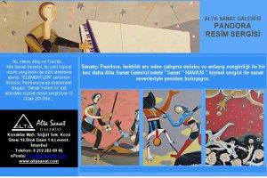 Sanat 'Havası' - Pandora Kişisel Resim Sergisi