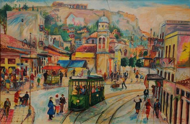 Yunan ve Kıbrıslı Naif Ressamların Eserleri