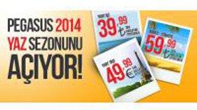 Pegasus ile 2014 Yaz Tatilinde En Uygun Fiyatlarla Seyahat Edin