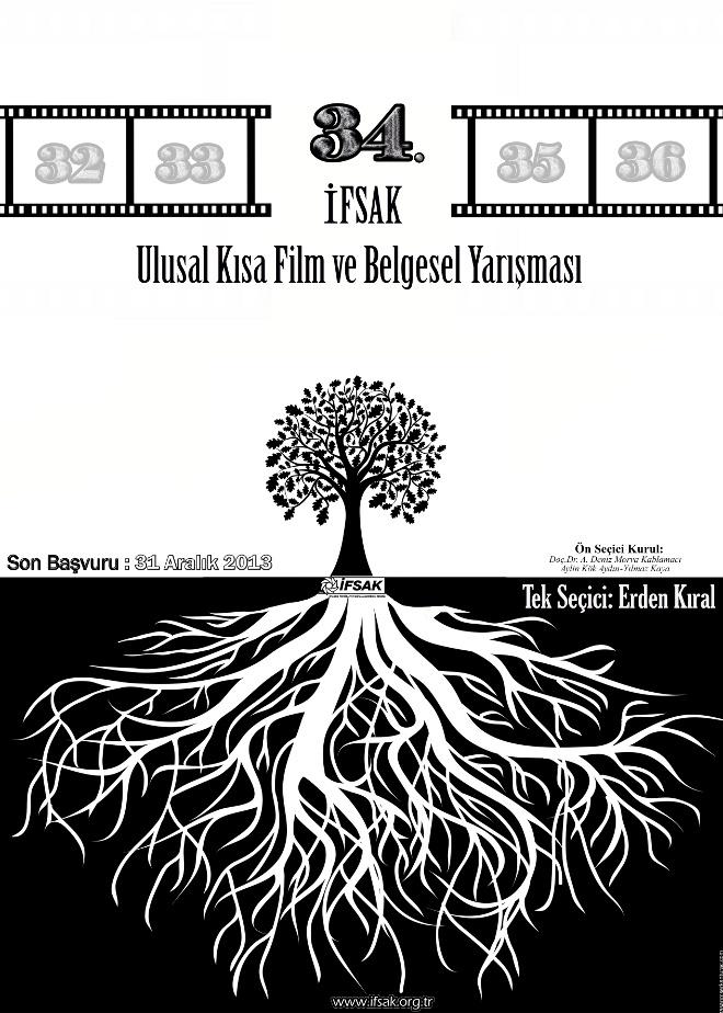 34. İFSAK Ulusal Kısa Film Yarışması Başlıyor