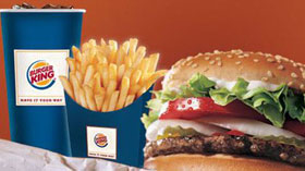 Burger King İncirli Shell