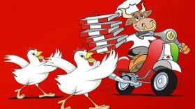Pizzabulls'tan Çıtır Tavuk Lezzeti