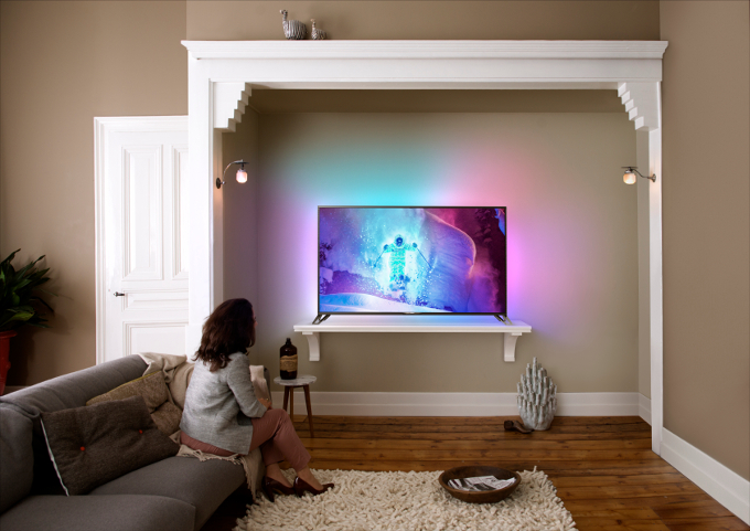 Android'li : Philips Ultra Hd Tv 9800