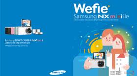 En İddialı 'Wefie'yi Samsung NX Mini İle Yakalayın