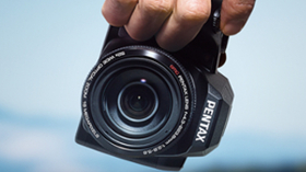 Süper Zoomlu Pentax Ricoh XG-1 Dijital Fotoğraf Makinesi