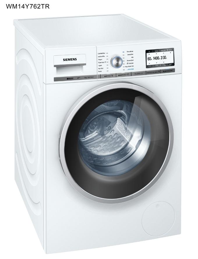 Siemens'ten Geniş Aileler İçin Çamaşır Makinesi
