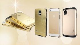 Telefonda Altın Renk Modası