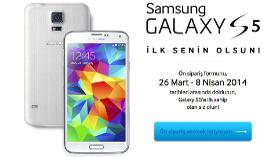 Yeni Samsung Galaxy S5 İlk Senin Olsun
