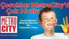 Çocuklar Metrocity'de Çok Mutlu!