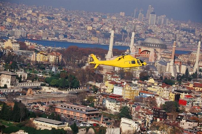 Kaan Air- Mybilet İşbirliğiyle İstanbul'u Helikopterle Havadan Keşfedin
