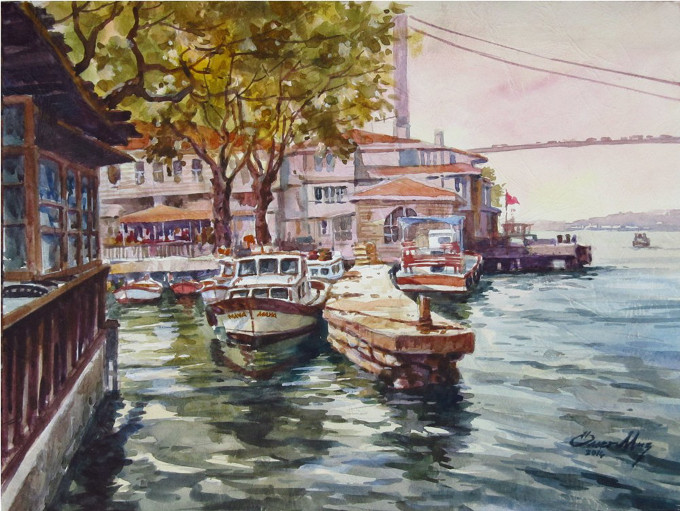 Ressam Ömer Muz'dan 40. Sanat Yılında Diyar-ı İstanbul