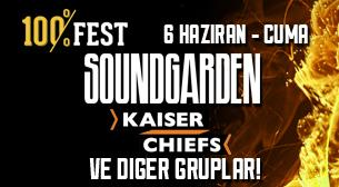 100%FEST - 1. Gün - Soundgarden