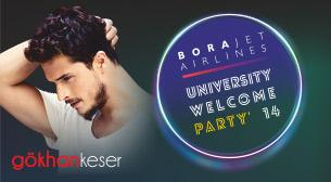 Borajet University Welcome Party'14 - Gökhan Keser