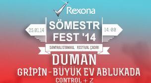 Duman - Gripin - Büyük Ev Ablukada – Rexona Sömestr Fest'14