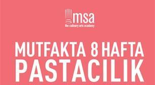 MSA Mutfakta 8 Hafta - Pastaclık