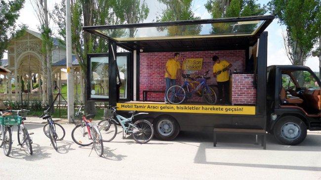 Sağlık İçin Hareket, Hareket İçin Sarı Bisiklet