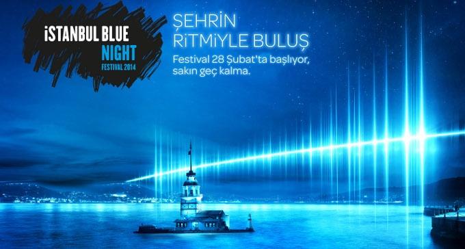 İstanbul Blue Night ile Şehrin Ritmiyle Buluş!