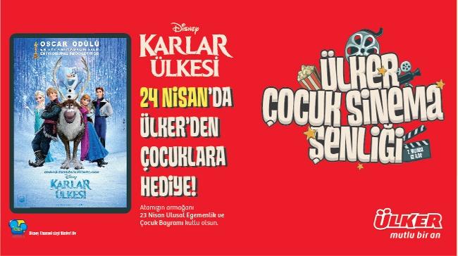 Karlar Ülkesi (Frozen) Ülker'den Tüm Çocuklara 23 Nisan Hediyesi!
