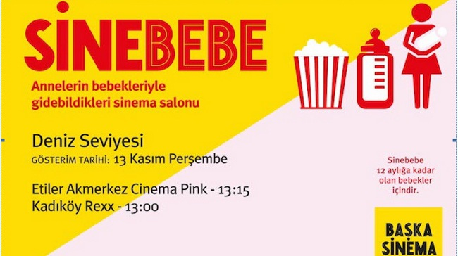Başka Sinema'dan Sinebebe: Annelerin Bebekleriyle Gidebildikleri Sinema Salonu