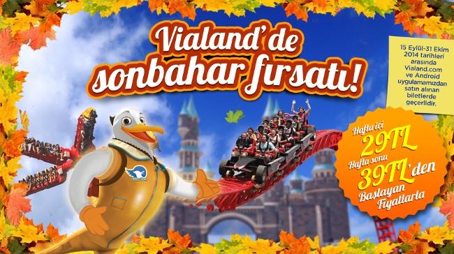 Vialand'de Sınırsız Sonbahar Eğlencesi!