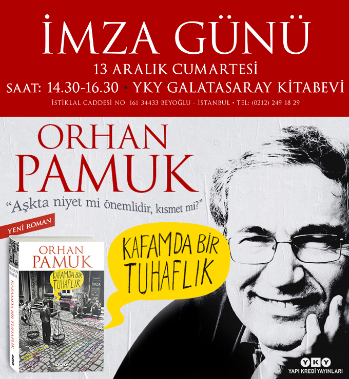 Orhan Pamuk, Okurlarıyla Buluşuyor
