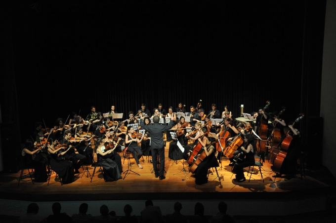 Greek Turkish Youth Orchestra'dan Mozart'la Bir Gece