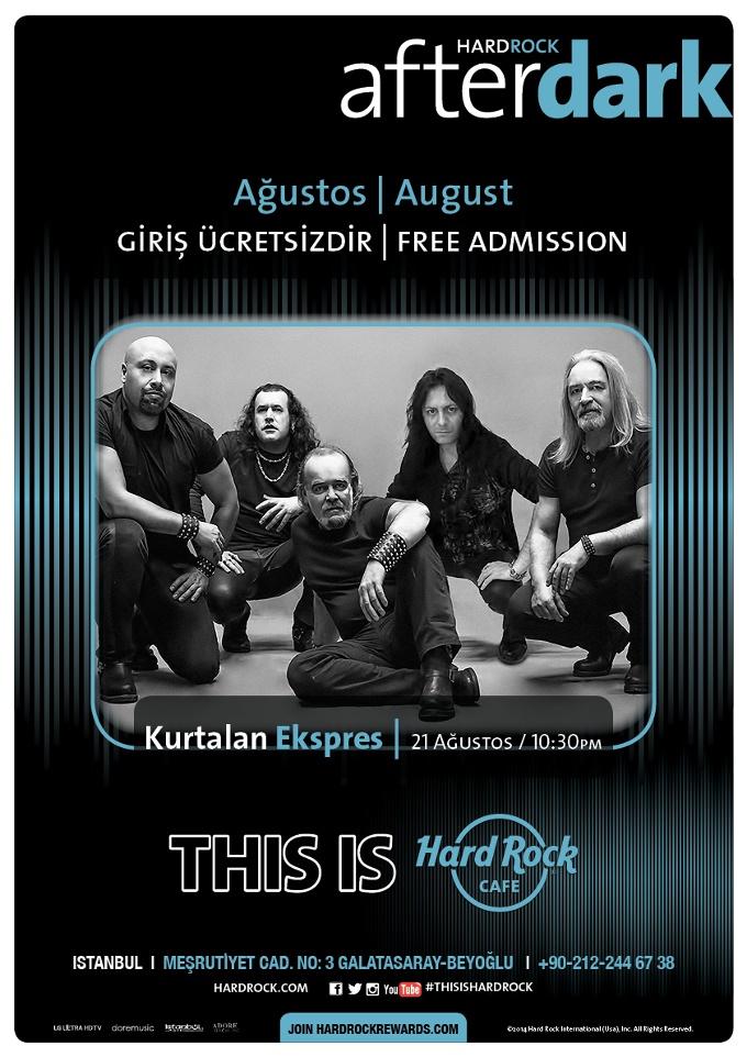 Kurtalan Ekspres Hard Rock Cafe Istanbul'da