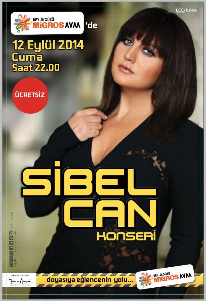 Sibel Can'dan Halk Konseri