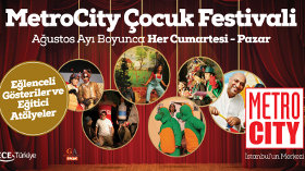 Şehrin Işıkları Açılıyor, Metrocity Avm Çocuk Festivali Başlıyor!