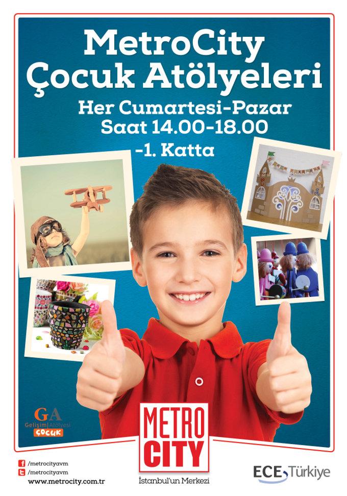 MetroCity Çocuklarının Yeni Yıl Telaşı Başlasın!
