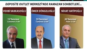 Vehbi Vakkasoğlu, Ömer Döngeloğlu ve Prof. Dr. Nihat Hatipoğlu