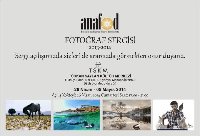 Anafod Fotoğraf Sergisi 2013-2014