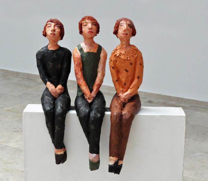 Aysel Alver'in Agoni / Agony İsimli Solo Heykel Sergisi