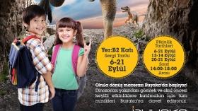 Dinazorların Büyülü Dünyası Buyaka'da Çocuklar İle Buluşuyor!