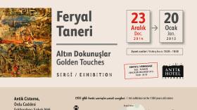 Feryal Taneri Altın Dokunuşlar Resim Sergisi