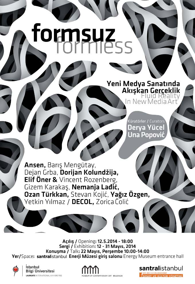 Formsuz - Yeni Medya Sanatında Akışkan Gerçekçilik
