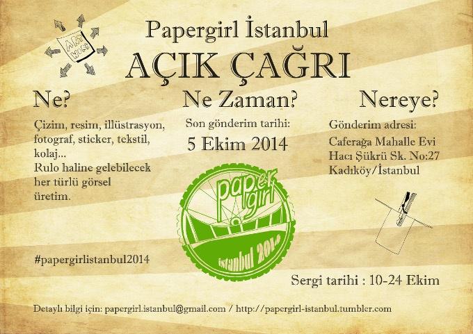 Papergirl İstanbul, Ekim'de Yeniden Sokaklarda!