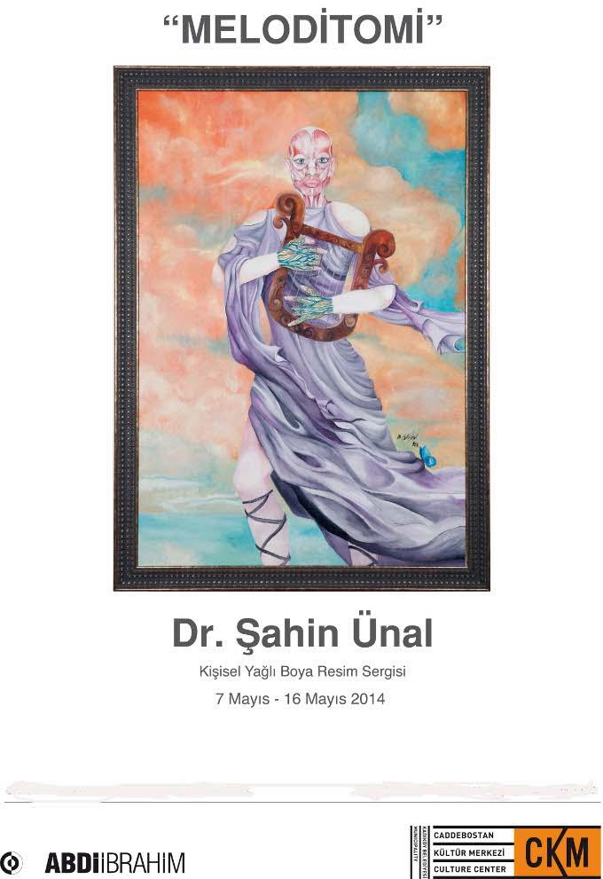 Dr. Şahin Ünal'ın Yağlıboya Resim Sergisi - Meloditomi