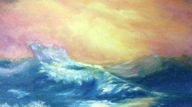 Serap Alkaya Denizin Renkleri Resim Sergisi