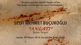"""Seyit Mehmet Buçukoğlu """"ANLATI"""" Resim Sergisi"""
