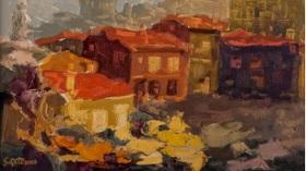 Süleyman Çete - İpek Yolu Resim Sergisi