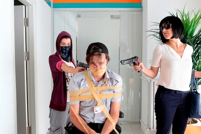 Kadın İşi: Banka Soygunu