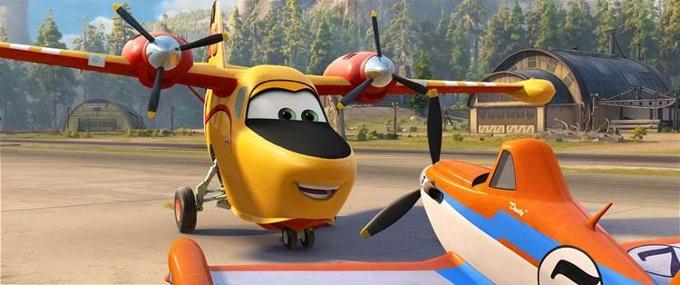 Uçaklar 2: Söndür ve Kurtar