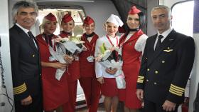 Atlasjet'in Londra Uçuşları Başladı