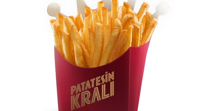 Artık Patatesin'de Kralı Burger King'de!