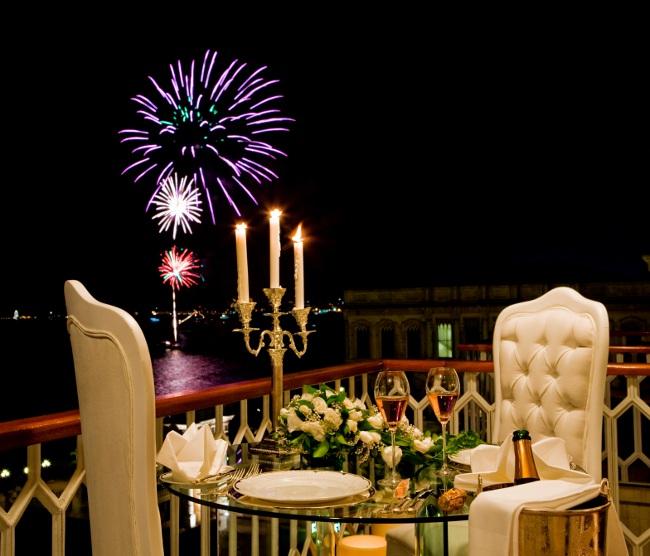 Çırağan Palace Kempinski'de Yılbaşı Kutlamaları