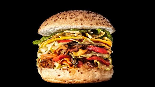 Egg&Burger'den Vejetaryenlere Özel Veggie Burger