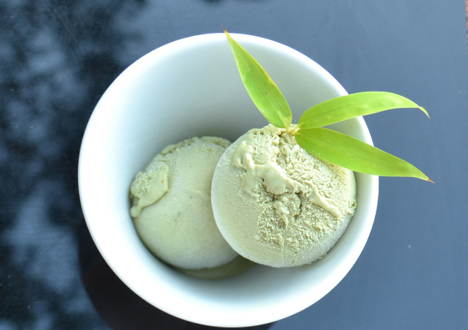 İoki'den Yeşil Çaylı Dondurma!